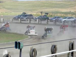StockKarts Buxton August 2009 in car video... 27 Chris Butcher