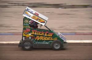 StoxKarts Coventry 03-04-2010 in car video...27 Chris Butcher (Heat 1)